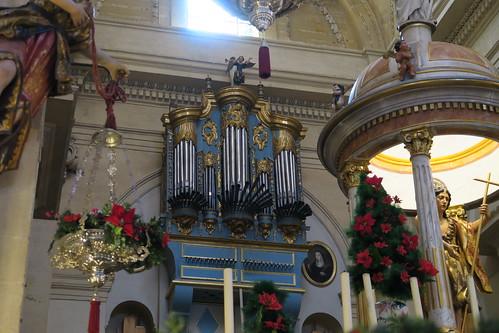 Iglesia de San Juan Bautista - Órgano
