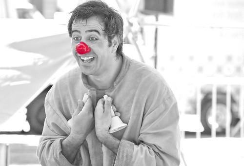A clown never cries