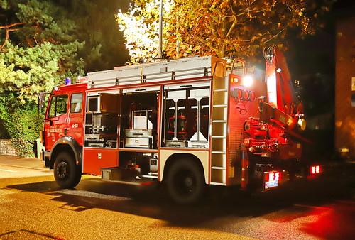 Mercedes 1429 1993 Feuerwehr Wettingen 8.11.2019 2624