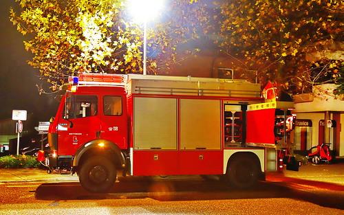 Mercedes 1429 1993 Feuerwehr Wettingen 8.11.2019 2623