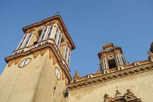 Iglesia de Nuestra Señora de la O - Parte superior de la torre
