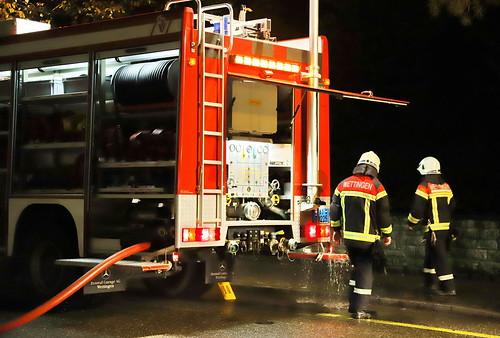 Mercedes Actros Feuerwehr Wettingen 8.11.2019 2633