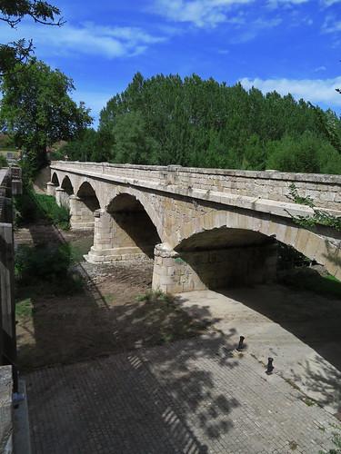 20190914 10 268 Frances Belorado Fluß Brücke Wald
