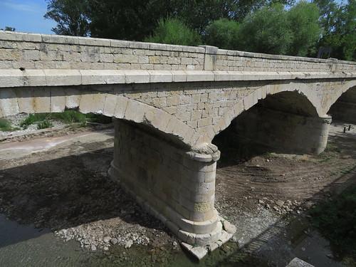 20190914 10 272 Frances Belorado Fluß Brücke Wald