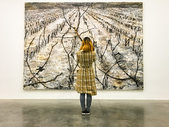Anselm Kiefer exhibition in white cube