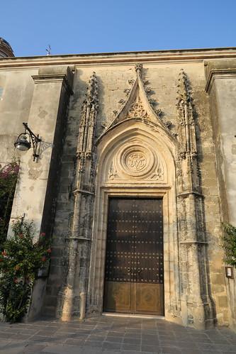 Iglesia de Nuestra Señora de la O - Portada lateral