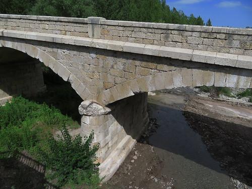 20190914 10 271 Frances Belorado Fluß Brücke Wald