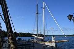 The Schooner Huron Jewel at Discovery Harbour, Penetanguishene, Ontario