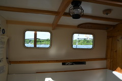 Portholes to the World on The Schooner Huron Jewel at Discovery Harbour, Penetanguishene, Ontario