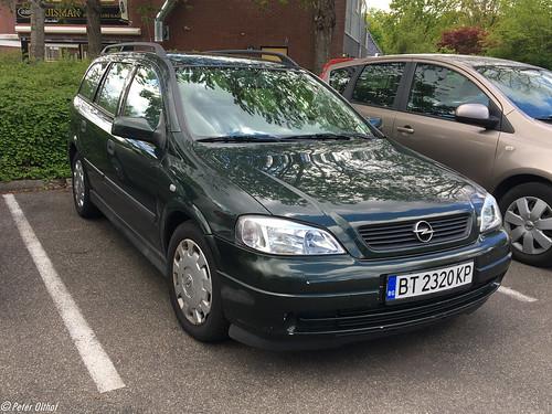 Opel Astra Caravan from Bulgaria