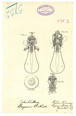 An invention for improvements in incandescent electric lamps, 1892