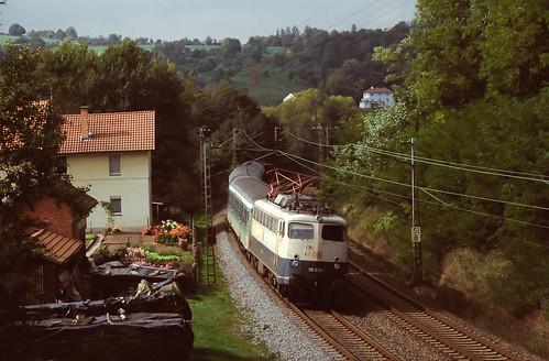 DB 110 338 Schaippach 29.09.1998
