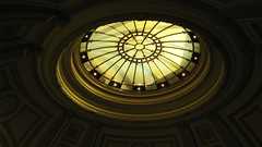 Golden Light - Library Rotunda