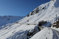 Oberalp Pass - Calmot Avalanche Galleries