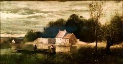 High River Level (c.1845-1855, France) - Jean-Baptiste Camille Corot (1796-1875)