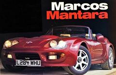 Marcos Mantara V-8 Spyder, 1992-1996