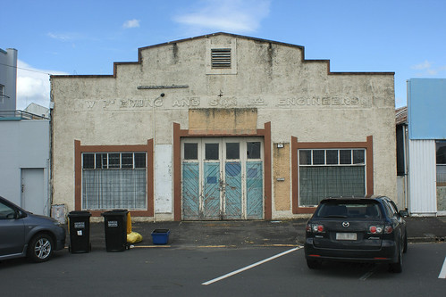 Paeroa: former Fleming Engineering building (1)
