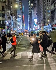 Crossing Seventh Avenue