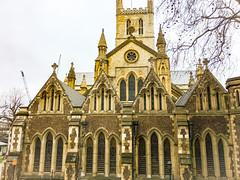 Bank side, London, England