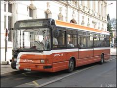 Renault R 312 – Setram (Société d'Économie Mixte des TRansports en commun de l'Agglomération Mancelle) n°435