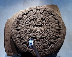 The Stone of The Sun vs Modern Cell Phone
