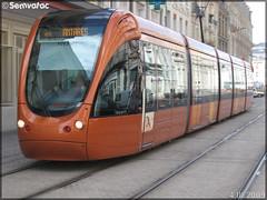Alstom Citadis 302 – Setram (Société d'Économie Mixte des TRansports en commun de l'Agglomération Mancelle) n°1013 (Plantagenêt)