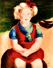 Untitled [The Girl at the Beach] (Undated) - Ofélia Marques (1902-1952)