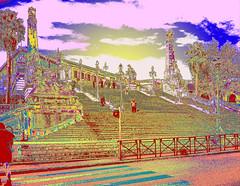 The Steps at Marseille Saint Charles 11 Colour