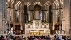Sermon in the Sacre Coeur