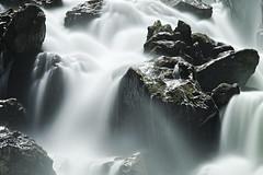 Waterfall of Pre' St. Didier, detail. Best viewed large.