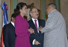 Presidente Danilo Medina recibe saludo de Año Nuevo en Palacio Nacional