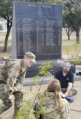 Eric Howton and Garrett, LAFB, TX, Jan 2020