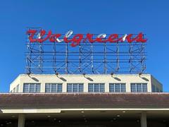 Walgreens Sign Still Showing Damage From Hurricane Irma Little Havana