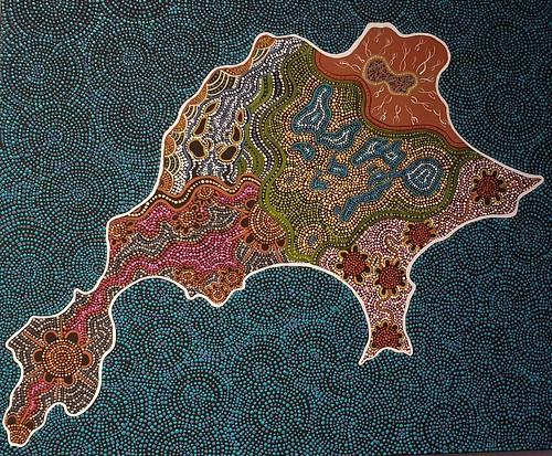 156. Rottnest Island artwork, WA.