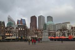 Hoogbouw in Den Haag gezien vanaf het Plein (136FJAKA_3250)