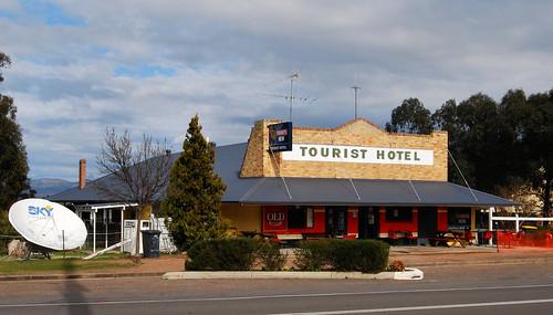 Tourist Hotel, Sandy Hollow, NSW.