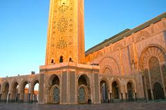 Mosque Hassan II, Casablanca, Morocco, 摩洺哥
