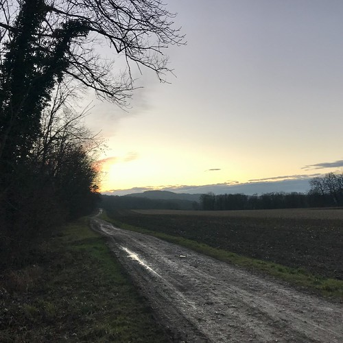 What an evening for a ride in the near country side ...