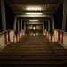 Lit Stairway