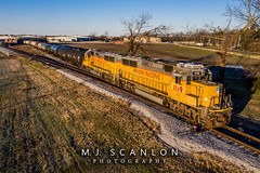 UP 1119 | EMD GP60 | UP Brinkley Subdivision