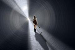 Human Guitar Girl Tunnel Light Edited 2020