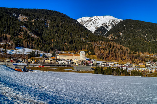 View of Disentis/Mustér