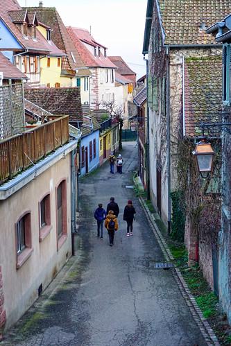 Street in Riquewihr, France