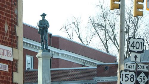 Monument in Warrenton