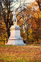 Alexander Hamilton in Central Park