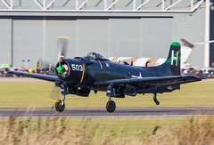 EGSU - Douglas AD-4NA Skyraider - G-RADR / 126922