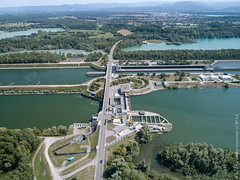 Schleuse Iffezheim/Rhein - Photo of Rountzenheim