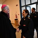2020-01-10 - Reliquia di S. Ponziano alla Scuola di Polizia