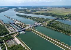Schleuse Iffezheim/Rhein