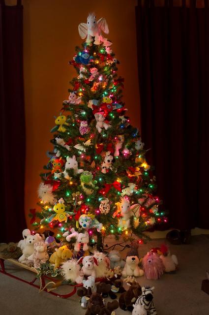 Webkins Christmas Tree